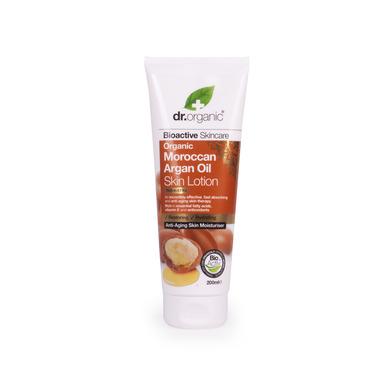 Dr Organic Organic Moroccan Argan Oil Skin Lotion Ενυδατικό Γαλάκτωμα Σώματος με Βιολογικό Έλαιο Αργκάν 200ml