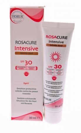 SYNCHROLINE Rosacure Intensive Cream Spf30 – Teintee Dore – Προστατευτικό γαλάκτωμα προσώπου 30ml