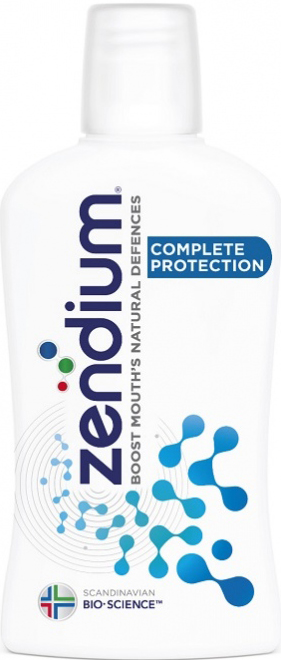 Zendium Complete Protection Mouthwash Στοματικό ΔιάλυμαπουΕνισχύει τη Φυσική Άμυνα του Στόματος500ml