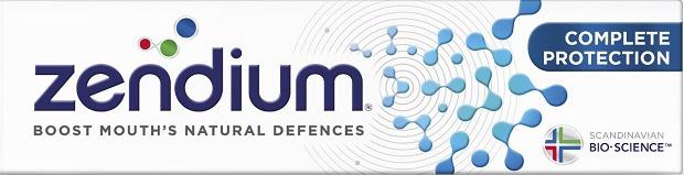 Zendium Complete Protection Οδοντόκρεμα Ολικής Προστασίας75ml