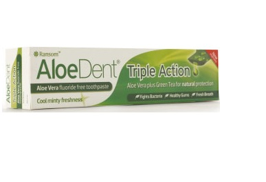 Optima Aloe Dent Triple Action Toothpaste, 100ml
