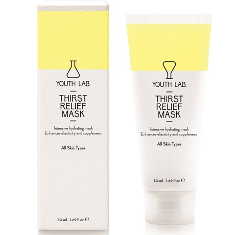 YOUTH LAB. Thirst Relief Mask All Skin Types Μάσκα Εντατικής Ενυδάτωσης με Δράση έως και 6 Ώρες Μετά την Εφαρμογή 50ml