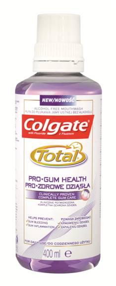 Colgate Total Pro-Gum Health Στοματικό Διάλυμα Χωρίς Οινόπνευμα Για Καθημερινή Χρήση 400ml