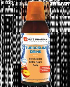 Forte Pharma Turboslim Drink Γεύση Ροδάκινο Πρόγραμμα Αδυνατίσματος 10 Ημέρων 500 ml