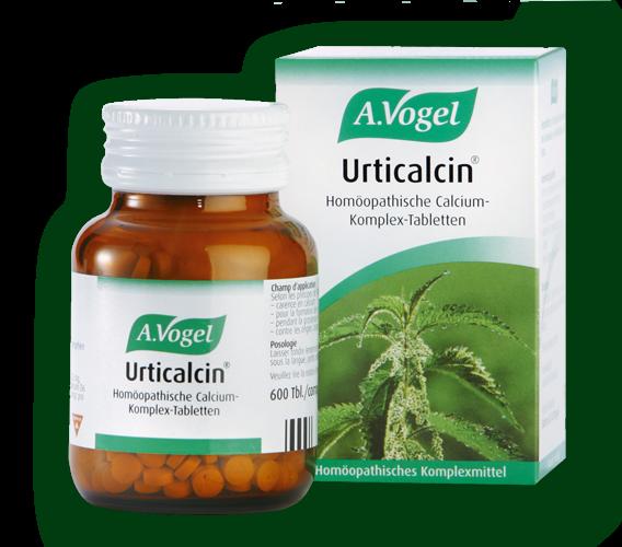 A.Vogel Urticalcin 100% Απορροφήσιμο Ασβέστιο Και Πυρίτιο 600 tabs