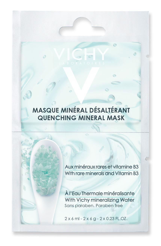 Vichy Masque Mineral Desalterant Μάσκα Ενυδάτωσης για Άμεση Καταπράϋνση 2x6ml