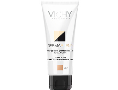 Vichy Dermablend Total Body Cover Spf15 Make Up για Πόδια & Σώμα 100ml – Medium