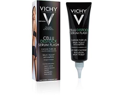 Vichy Cellu Destock Serum Flash Ορός Κατά Του Τοπικού Πάχους Και Της Κυτταρίτιδας 125ml
