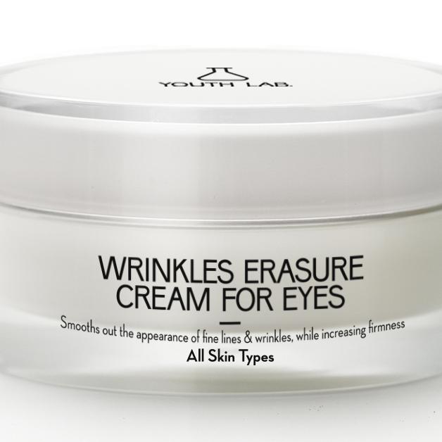 YOUTH LAB. Wrinkles Erasure Cream For Eyes, Αντιρυτιδική κρέμα ματιών 15ml