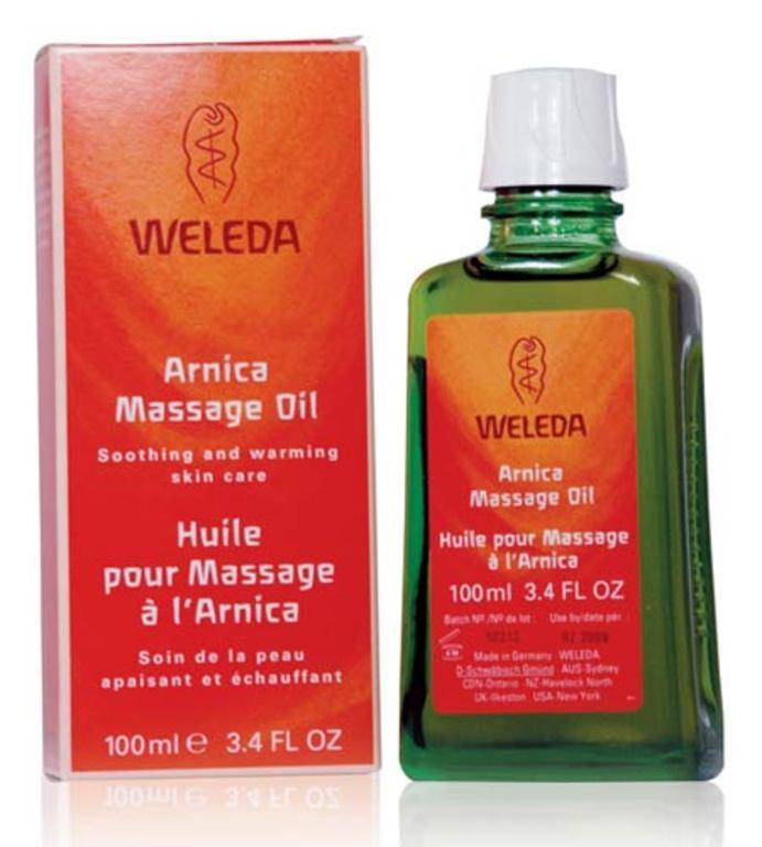 Weleda Arnica Massage Oil-Λάδι Άρνικας Ιδανικό Για Θεραπευτικό Μασάζ 100ml