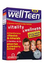 Vitabiotics Wellteen Ειδικά Σχεδιασμένο Για Εφήβους Και Νέους 13-19 Ετών 30tabs