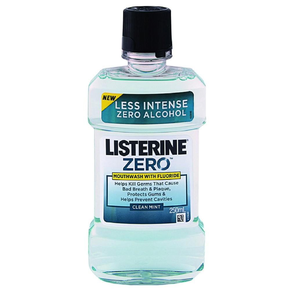 Listerine Zero Στοματικό Διάλυμα Κατά των Μικροβίων 500ml