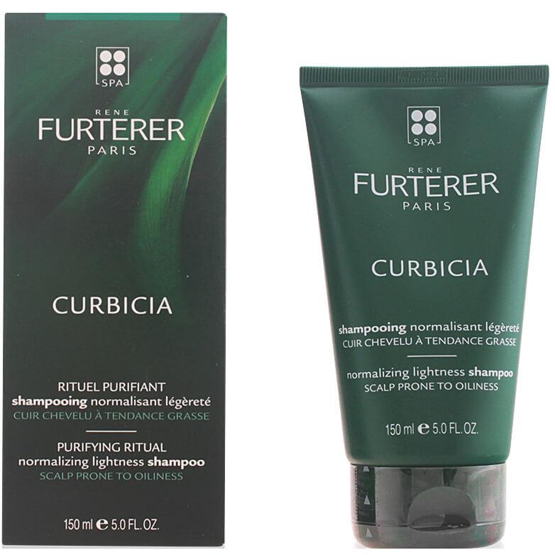 Rene Furterer Curbicia Shampoo Ανάλαφρο Εξισορροπιστικό Σαμπουάν για ΛιπαρόΤριχωτό 150ml