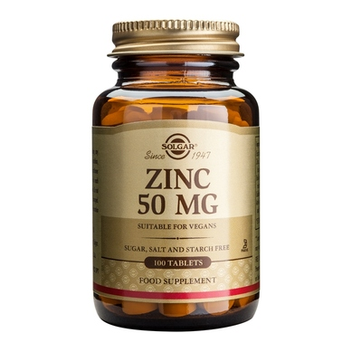 Solgar Zinc Picolinate 22mg 100tablets