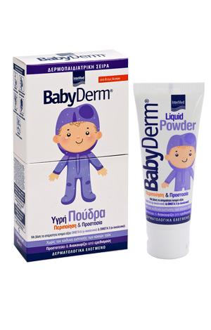 Intermed Babyderm Liquid Powder Υγρή προστατευτική πούδρα 75ml