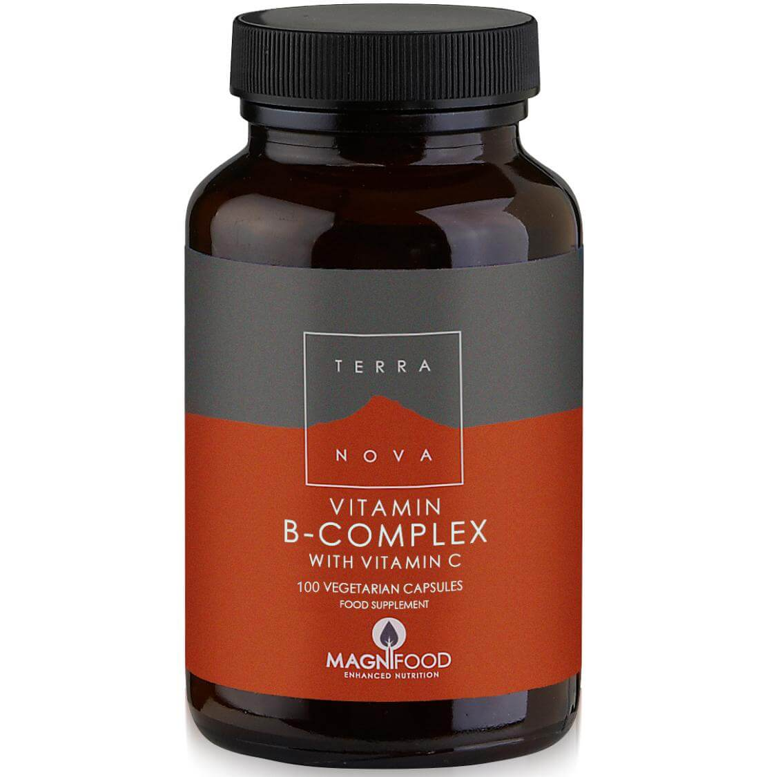 Terranova B-Complexwith Vitamin C για τη Καλύτερη Διαχείριση του Στρεςκαι την Ενίσχυση του Μεταβολισμού 100veg.caps