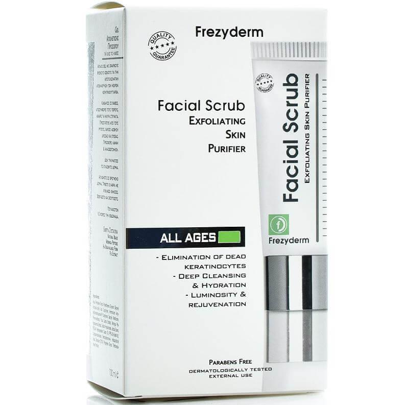Frezyderm Facial Scrub GelΑπολεπιστικόGelΠροσώπου 100ml