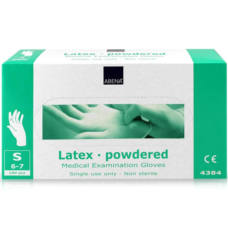 Abena Απλά Εξεταστικά Γάντια Πουδραρισμένα Μέγεθος Μικρό 6-7 100τμχ