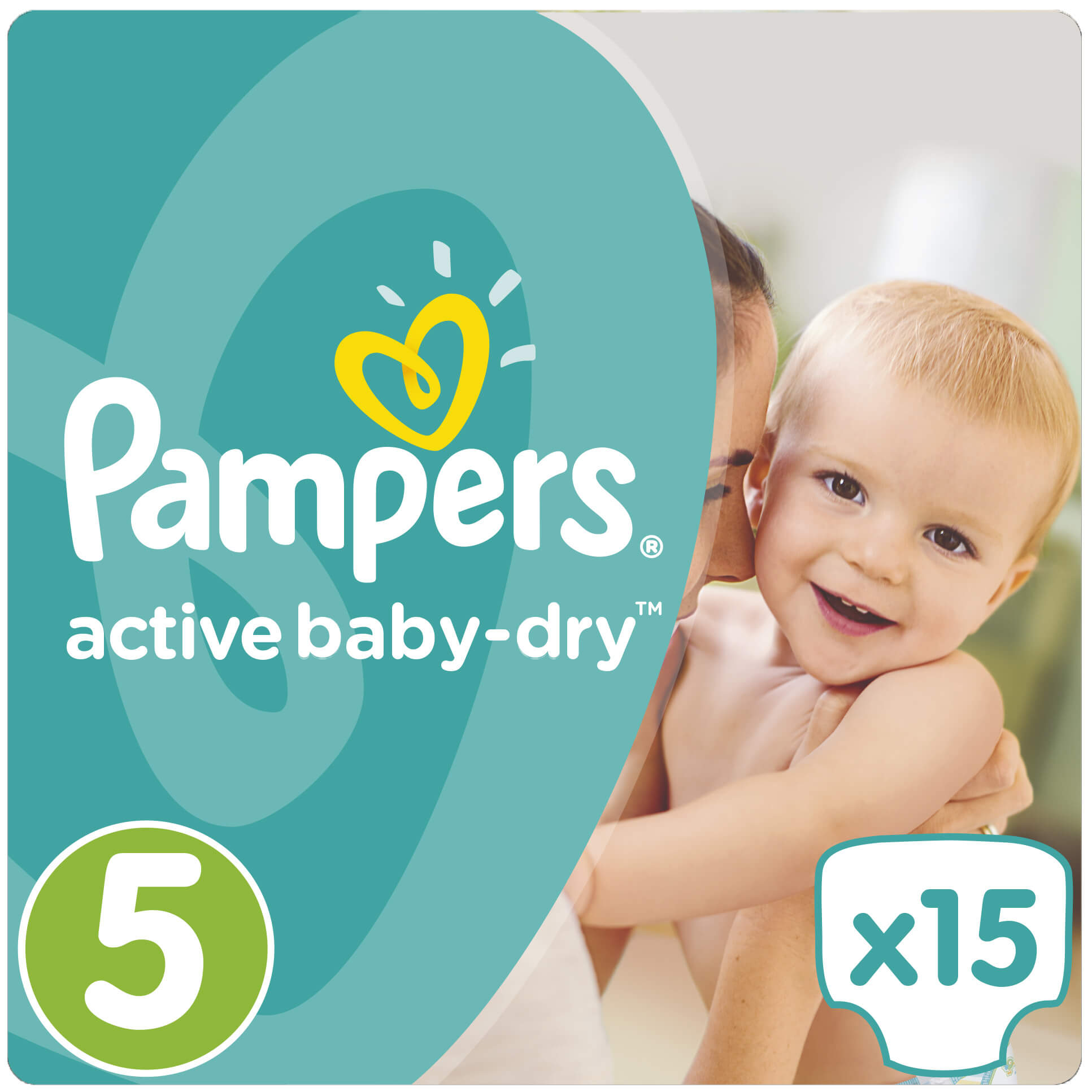 Pampers Active Baby Dry No5 (11-18kg) 15 πάνες​​​​​​​