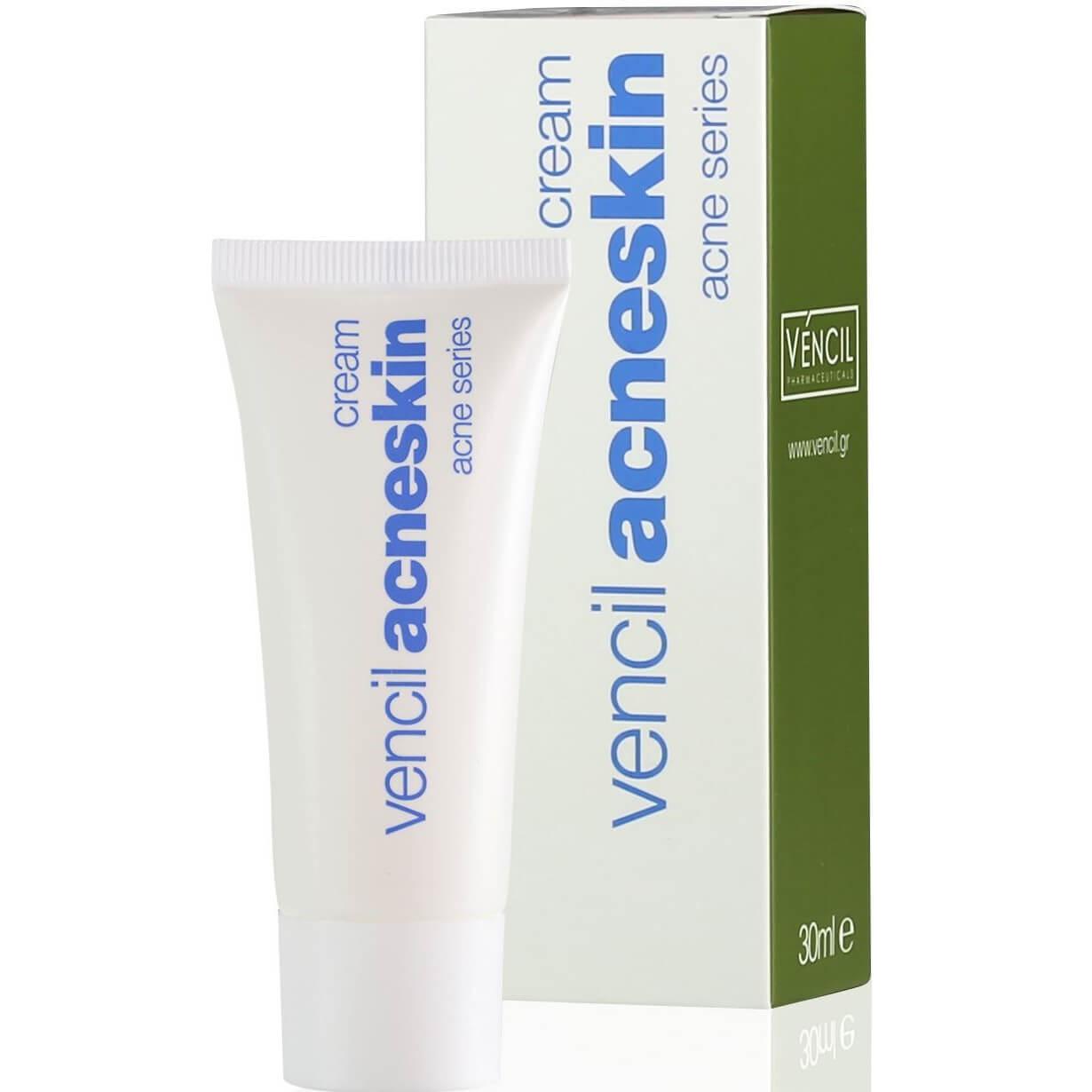 Vencil Acneskin CreamΚρέμα για Λιπαρά & Ακνεϊκά Δέρματα 30ml ομορφιά   δέρματα με ατέλειες στο πρόσωπο   ακνεϊκά δέρματα