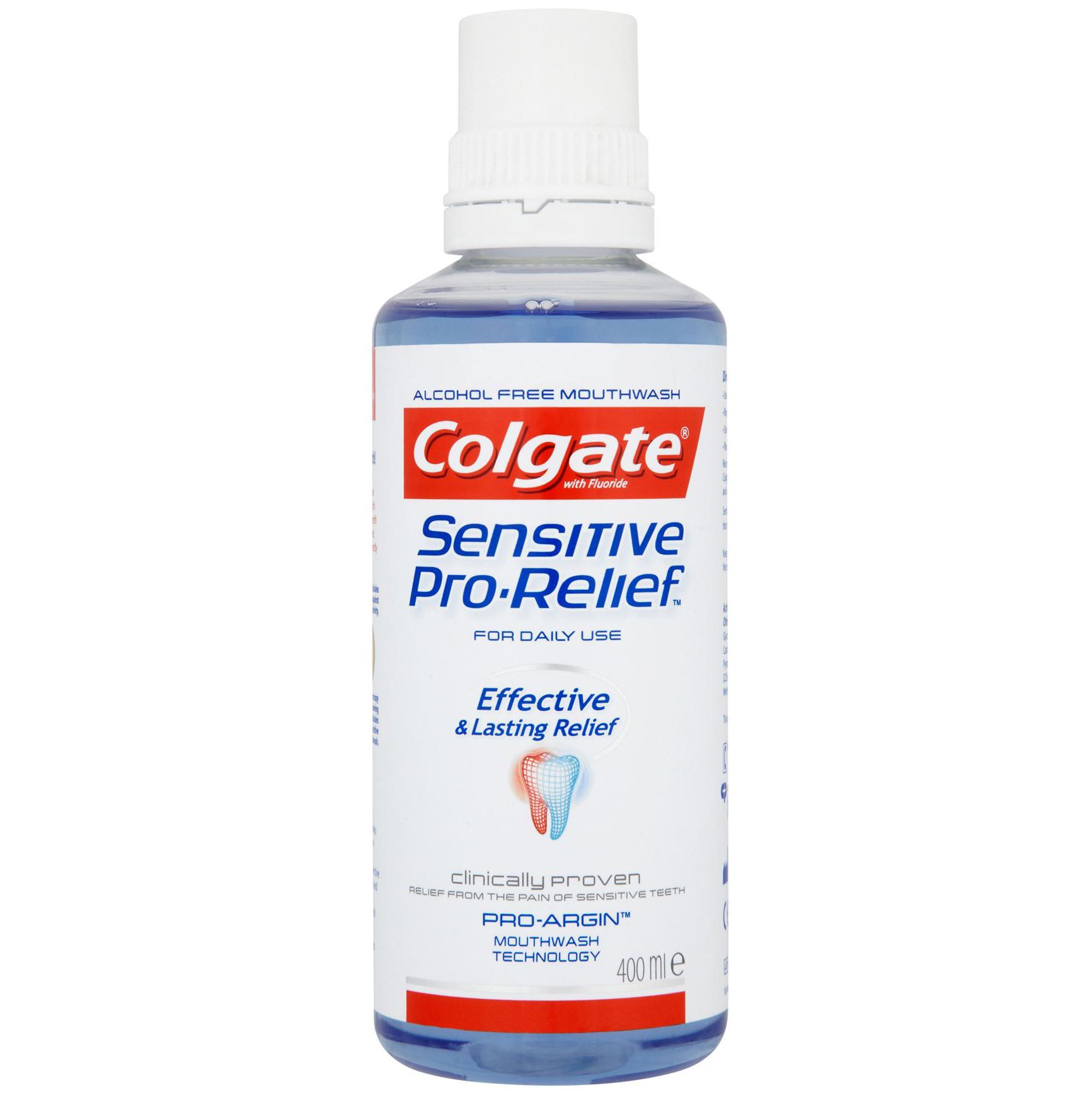 Colgate® Sensitive Pro-Relief™ Στοματικό Διάλυμα Για Μείωση Της Οδοντινικής Υπερευαισθησίας 400ml