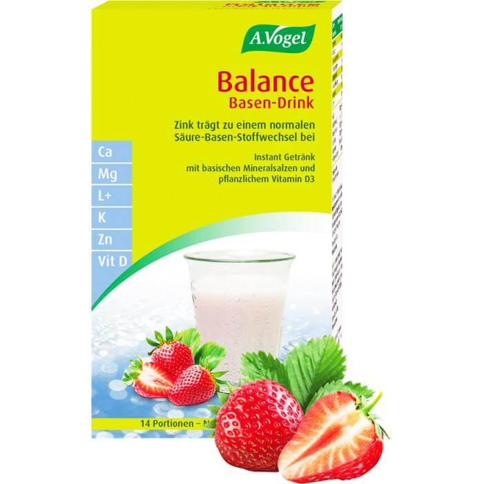 A.Vogel Balance Base Drink Στιγμιαίο Ρόφημα Εξισορρόπησης του PΗ του Οργανισμού 14Sachets