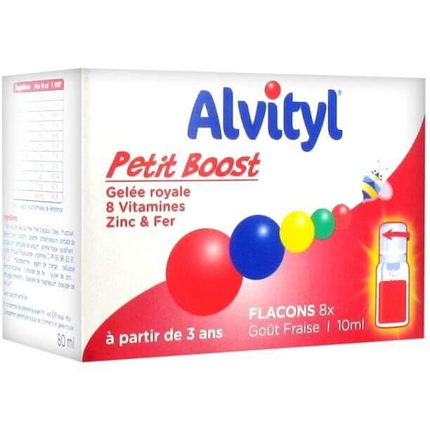 Alvityl Petit Boost Gelee Royal 8 Vitamines Zinc & Fer Φόρμουλα για Tόνωση και Eνέργεια 8 Αμπούλες 10ml