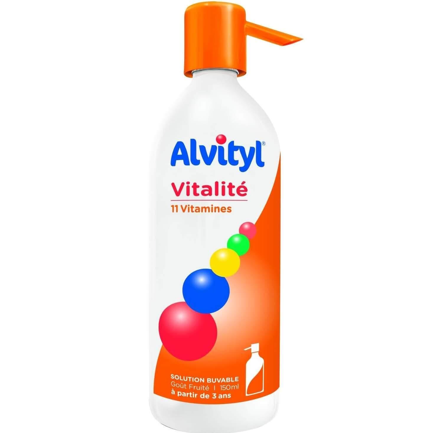 Alvityl Σιρόπι Πολυβιταμινούχο Συμπλήρωμα Διατροφής με 11 Βιταμίνες 150ml