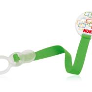 NUK Κορδέλα Πιπίλας DUO Για Όλες Τις Πιπίλες Της NUK Με Κρίκο ή Χωρίς - ροζ μητέρα παιδί   αξεσουάρ και παιχνίδια   αλυσίδα για πιπίλες