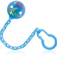 NUK Αλυσίδα Πιπίλας Για Το Ασφαλές Κρέμασμα Της Πιπίλας – μπλέ