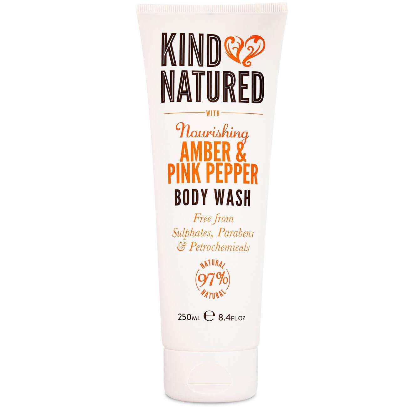Kind Natured Nourishing Body Wash Amber & Pink Pepper Αφρόλουτρομε Κεχριμπάρι & υγιεινή   σώμα   αφρόλουτρα creme douche