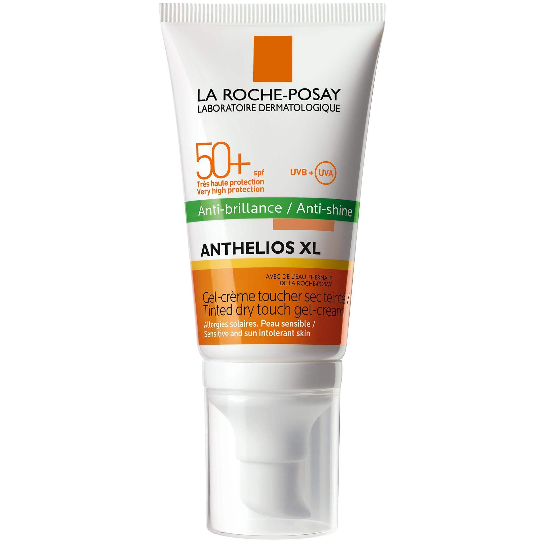 La Roche-Posay Anthelios Anti-brillance Tinteed Spf50+ Αντηλιακή Gel Κρέμα Προσώπου με Χρώμα για Ματ Αποτέλεσμα50ml