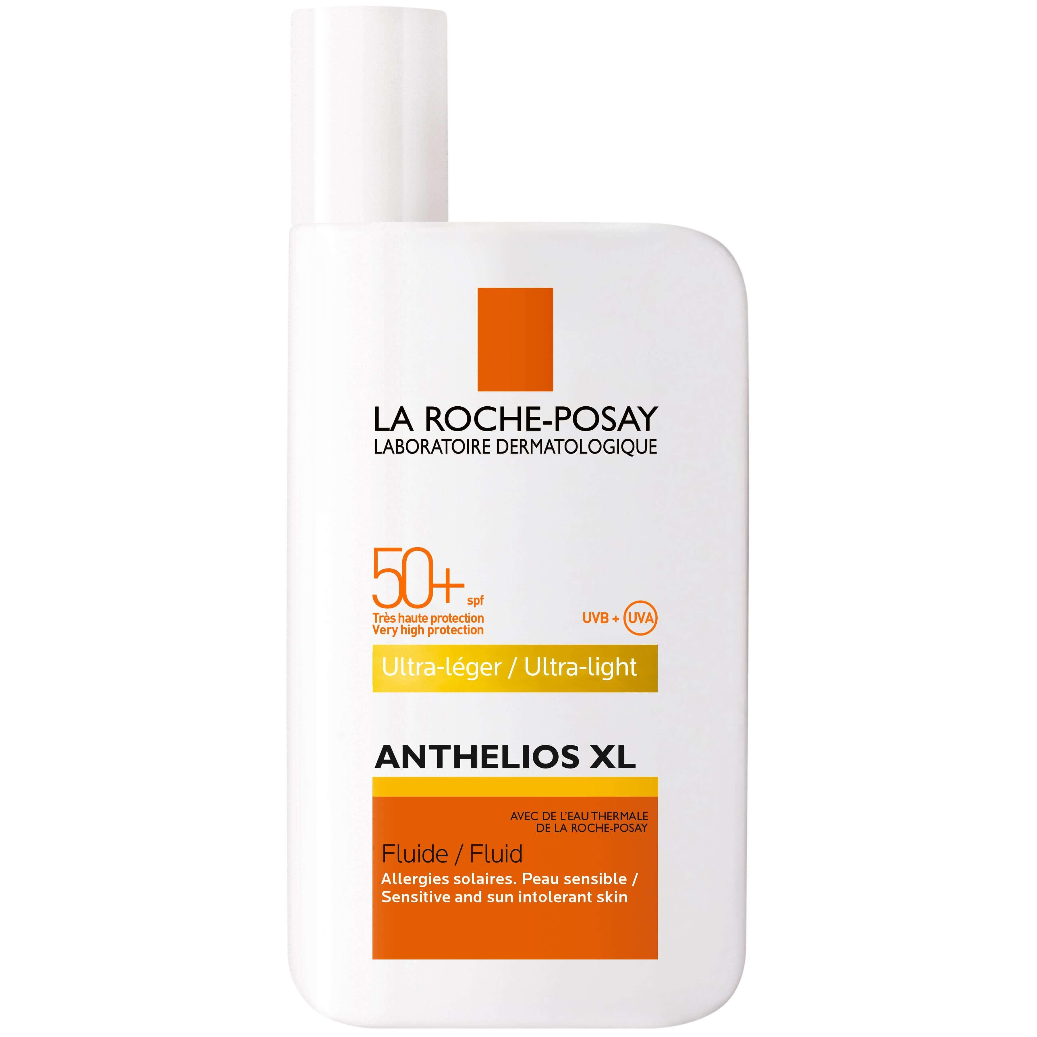 La Roche-Posay Anthelios XL Fluide Spf50+ Λεπτόρρευστη Αντηλιακή Κρέμα Προσώπου με Άρωμα 50ml
