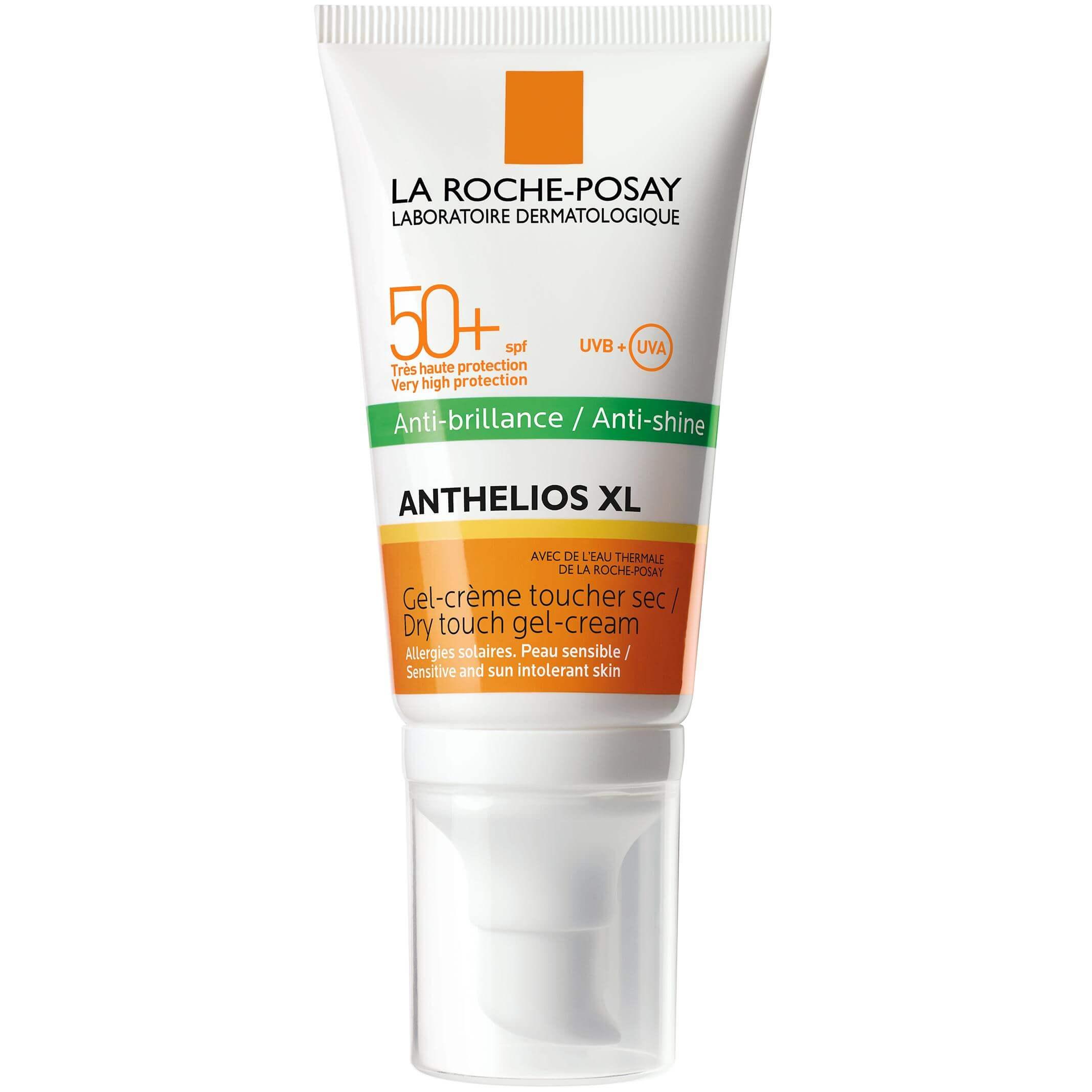 La Roche-Posay Anthelios Anti-brillance Spf50+ Αντηλιακή Gel Κρέμα Προσώπου για Ματ Αποτέλεσμα50ml
