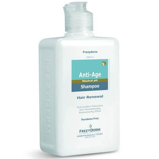 Frezyderm Anti-Age Shampoo Σαμπουάν για Ώριμα & ΕύθραυσταΜαλλιά 200ml