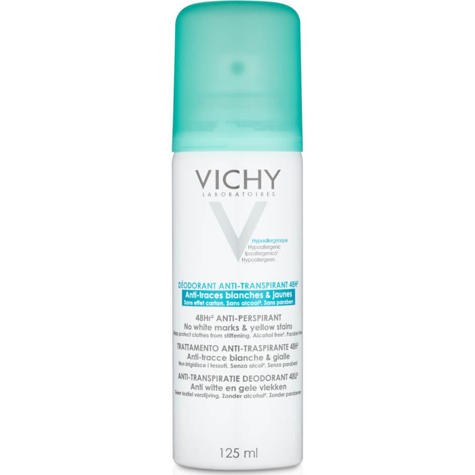 Vichy Anti-Transpirant Deo Aerosol 48h Αποσμητικό Spray Κατά Της Έντονης Εφίδρωσης και των Λευκών Σημαδιών 125ml