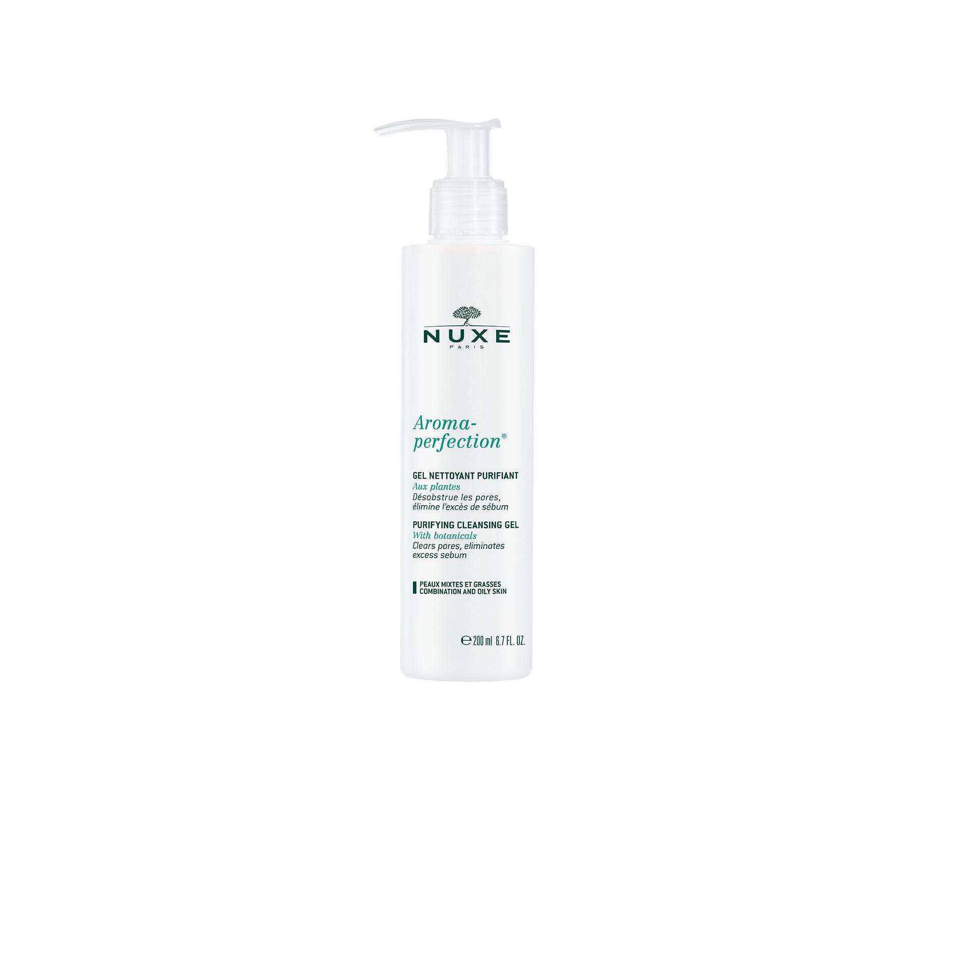Nuxe Aroma Perfection Gel – Gel Καθαρισμού Προσώπου για Μεικτό και Λιπαρό Δέρμα 200ml