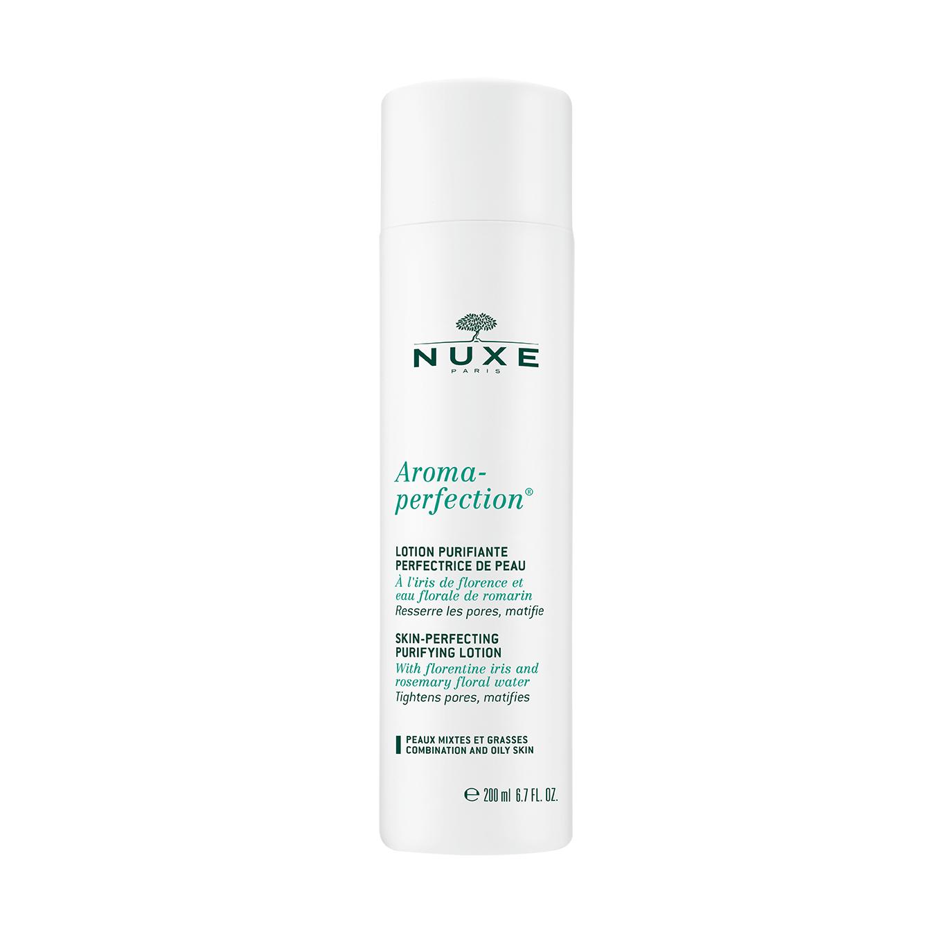 Nuxe Aroma-Perfection Lotion Purifiante Perfectrice – Λοσιόν Καθαρισμού για το Μεικτό και Λιπαρό Δέρμα 200ml