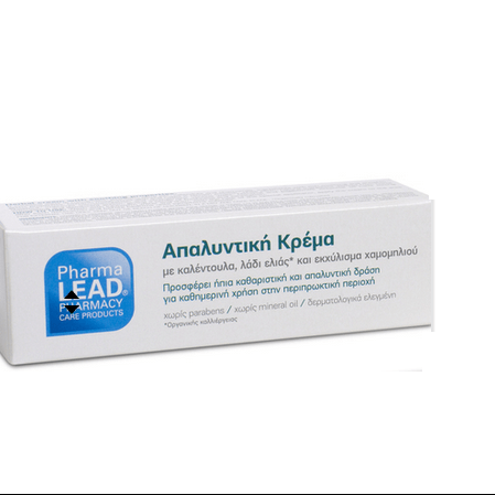 Pharmalead Soothing Cream Φυτική Απαλυντική Κρέμα για Αιμορροίδες με Καλέντουλα Λάδι Ελιάς & Εκχύλισμα Χαμομηλιού 30ml