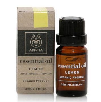 Apivita Essential Oil Λεμόνι 10ml
