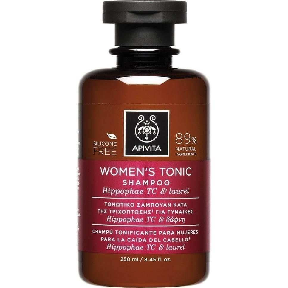 Apivita Womens Tonic Σαμπουάν για Γυναίκες Κατά της Τριχόπτωσης με Hippophae Tc & Δάφνη 250ml
