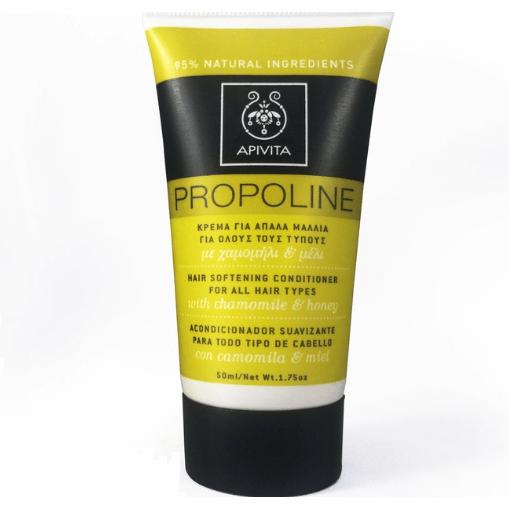 Apivita Propoline Mini Κρέμα για Απαλά Μαλλιά με Χαμομήλι & Μέλι για Όλους τους Τύπους 50 ml