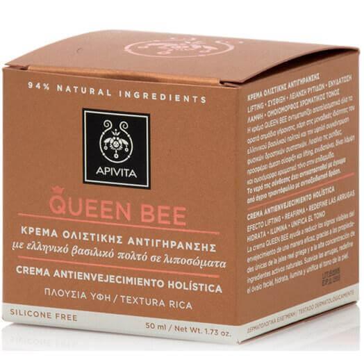 Apivita Queen Bee Rich Cream Kρέμα Ημέρας Πλούσιας Υφής 50ml
