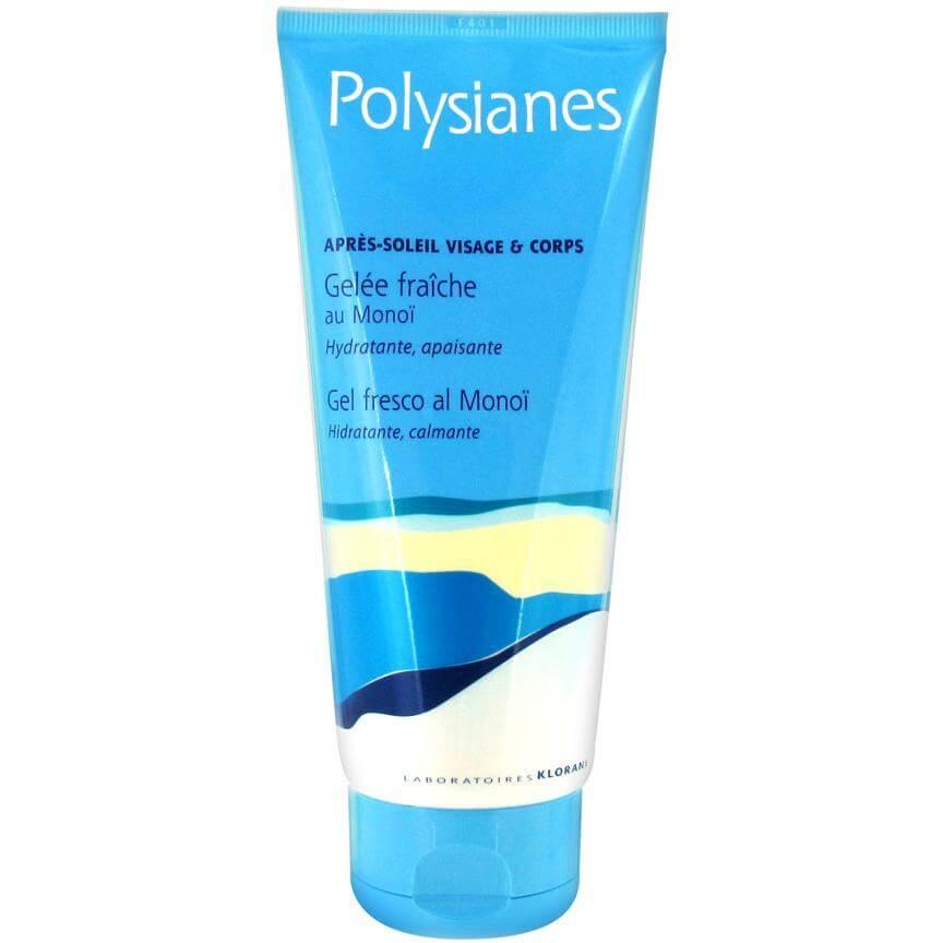 Polysianes Apres-Soleil Shampooing Gel Douche With Monoï Θρεπτικό Σαμπουάν-Αφροντούς για Πρόσωπο Σώμα για Μετά τη Θάλασσα 200ml