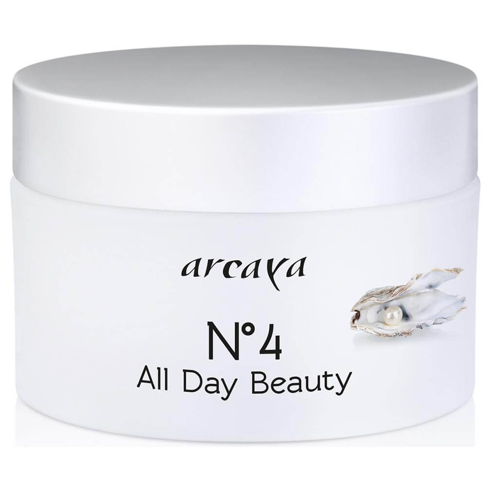 Arcaya No4 All Day Beauty Cream Αντιρυτιδική Κρέμα Ημέρας με Δράση Προστασίας του DNA & Αντηλιακό Δείκτη Spf15 100ml