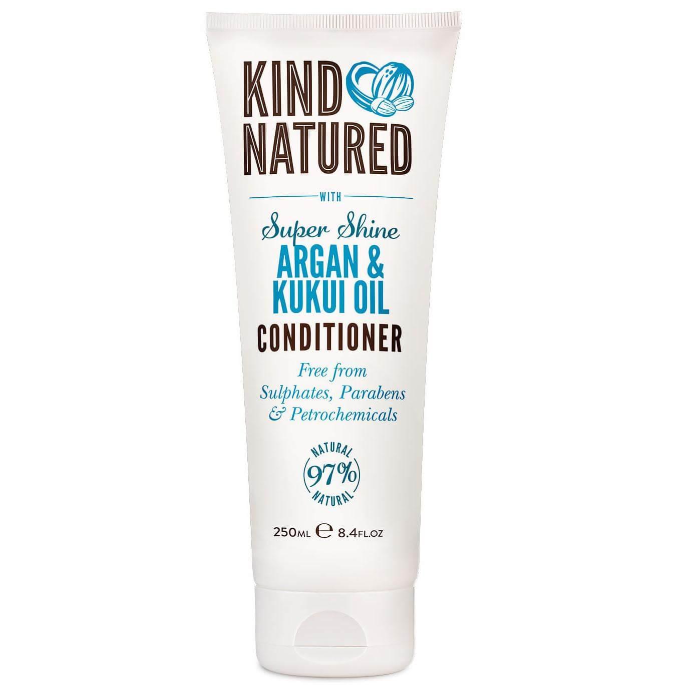 Kind Natured Super Shine Conditioner Argan & Kukui Oil Μαλακτική Κρέμα Μαλλιών για Λάμψη σε Μαλλιά που Φριζάρουν 250ml