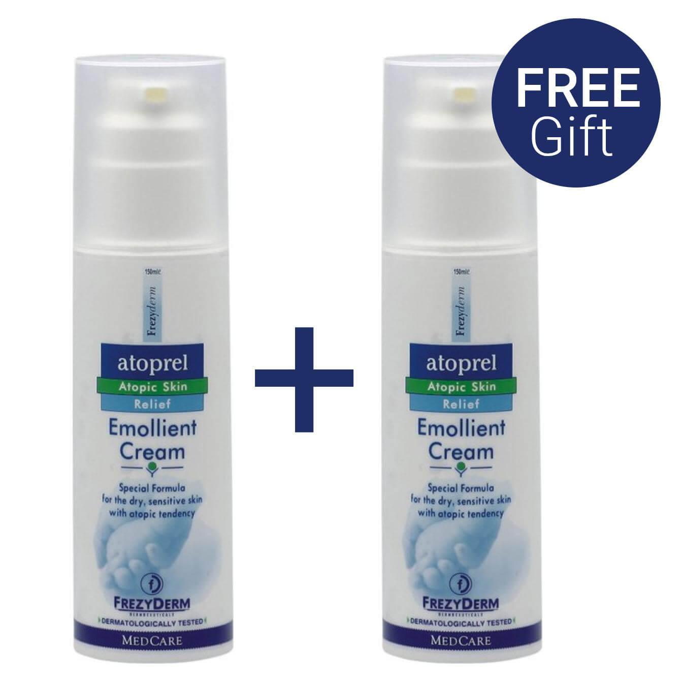 Frezyderm Atoprel Emollient Cream Κρέμα για Ξηρό Δέρμα με Ατοπική Προδιάθεση 150ml & Δώρο Επιλέον Ποσότητα 80ml