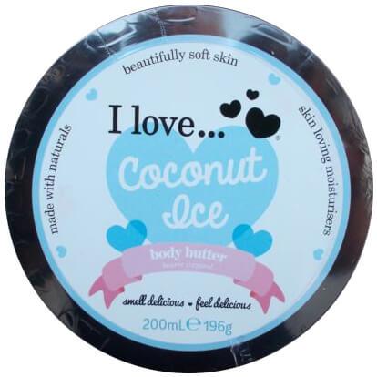I love… Nourishing Body Butter Θρεπτικό Βούτυρο Σώματος 200ml – Coconut Ice