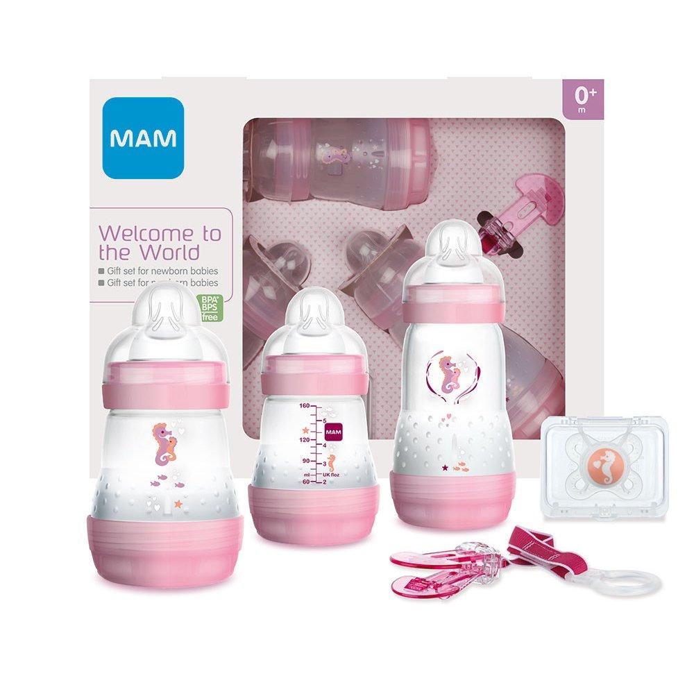 Mam Welcome to the World Σετ Δώρου 5 Τεμαχίων για Νεογέννητα Κωδ 660 από 0+ Μηνών – ροζ
