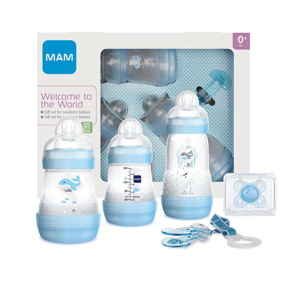 Mam Welcome to the World Σετ Δώρου 5 Τεμαχίων για Νεογέννητα Κωδ 660 από 0+ Μηνών – γαλάζιο